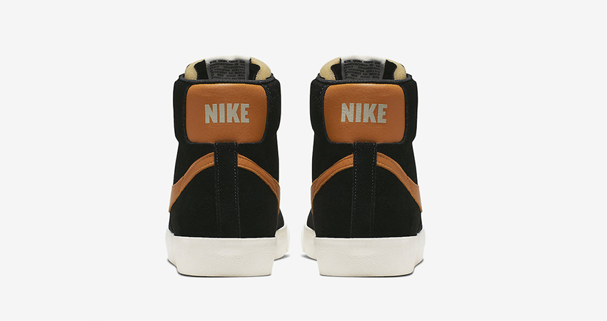 Nike Blazer Mid Vintage '77 Black Amber Rise Is Coming Soon 04