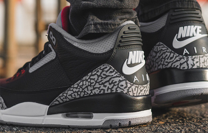 huge selection of 9167e a53f0 Nike Jordan 3 Black Cement CK4348-007