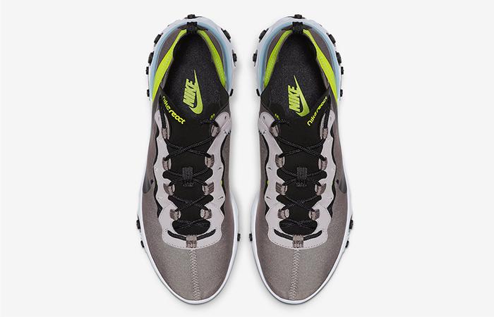 Nike React Element 55 Pumice Volt BQ6166-201