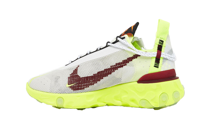 440842ec37 Nike React WR ISPA Yellow White CT2692-002 – Fastsole