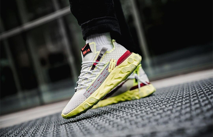 Nike React WR ISPA Yellow White CT2692