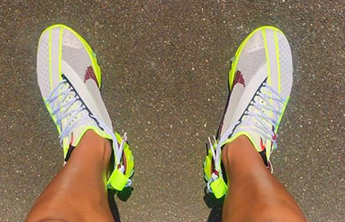 Nike React WR ISPA Yellow White CT2692-002 on foot 02
