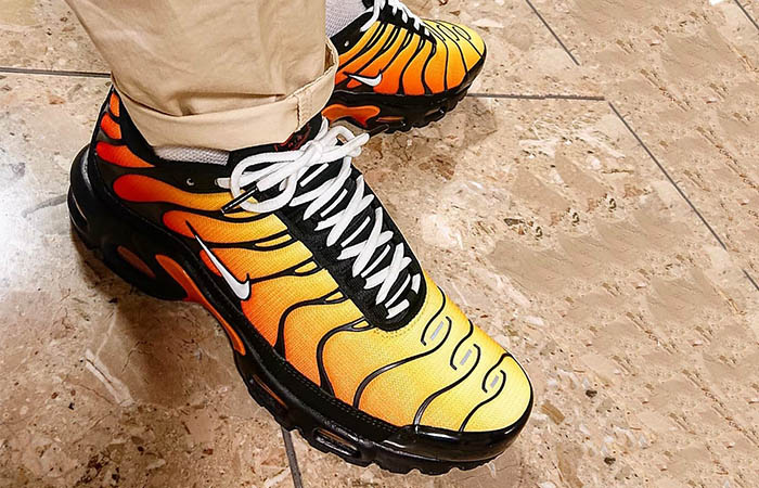 best service 8e2f3 fd117 Nike TN Air Max Plus Tiger Orange 852630-040