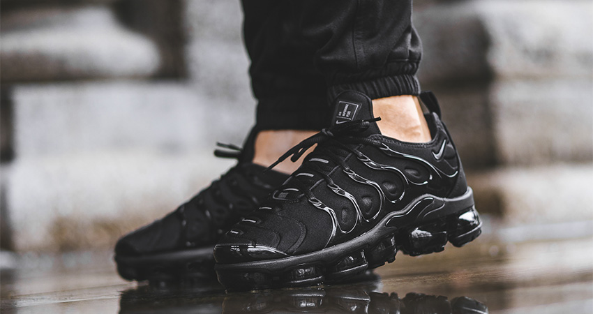 Nike Vapormax Plus Triple Black