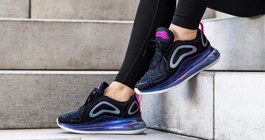 Nike Womens Air Max 720 Laser Fuchsia CD2047-001