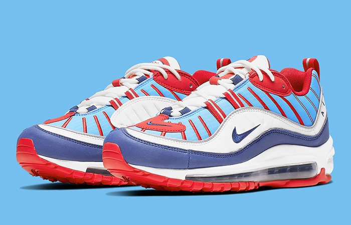 new high quality official supplier cheapest price Nike Womens Air Max 98 Summit White Red AH6799-112