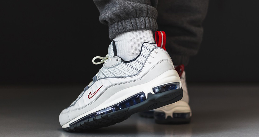Offspring Offering £45 Off The Nike Air Max 98 'Summit White Red! 01