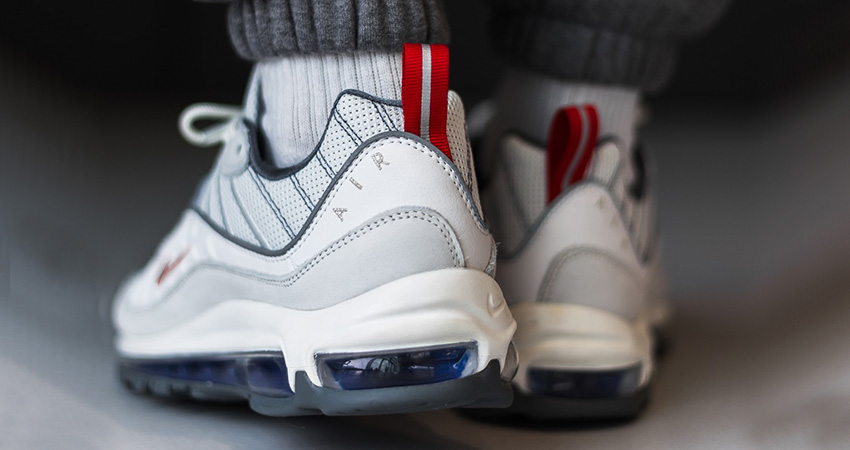 Offspring Offering £45 Off The Nike Air Max 98 'Summit White Red! 02