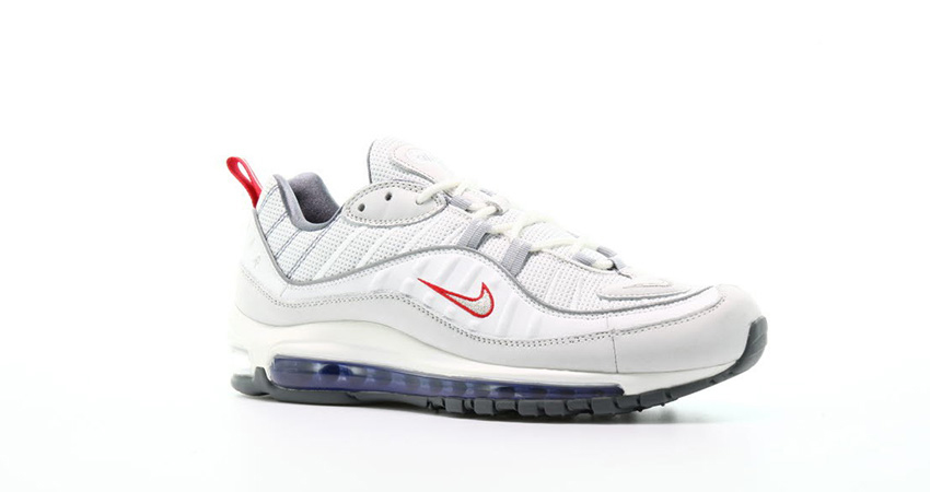 Offspring Offering £45 Off The Nike Air Max 98 'Summit White Red! 04