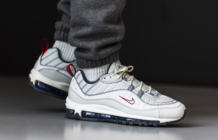 Offspring Offering £45 Off The Nike Air Max 98 'Summit White Red! ft