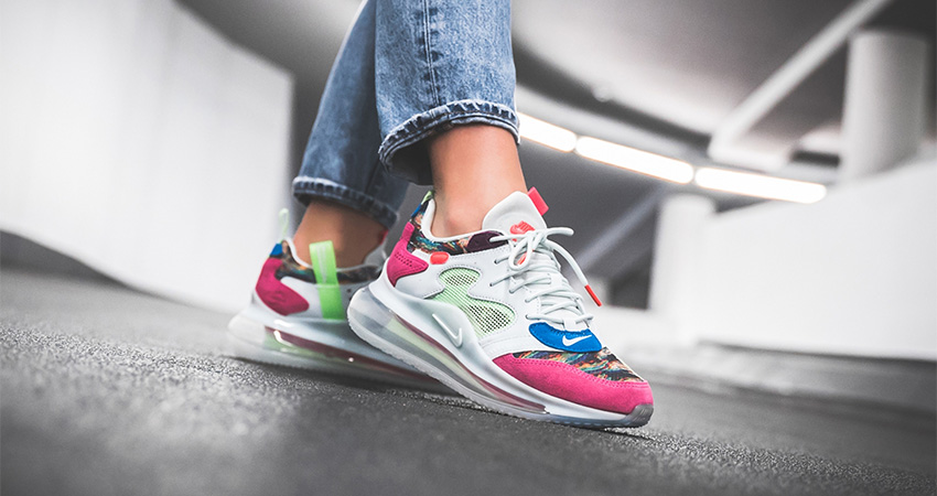 new arrivals b7d0f bb51f On Foot Look At The Nike Air Max 720 OBJ Multi – Fastsole