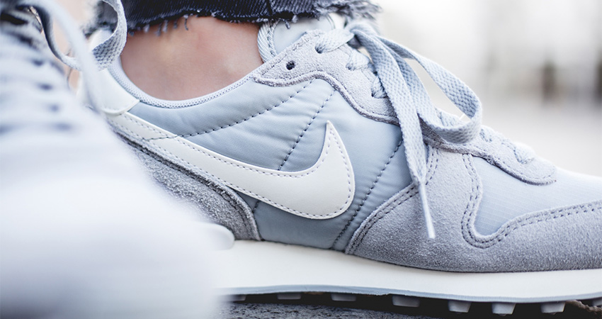 On Foot Look At The Nike Womens Internationalist Grey 02