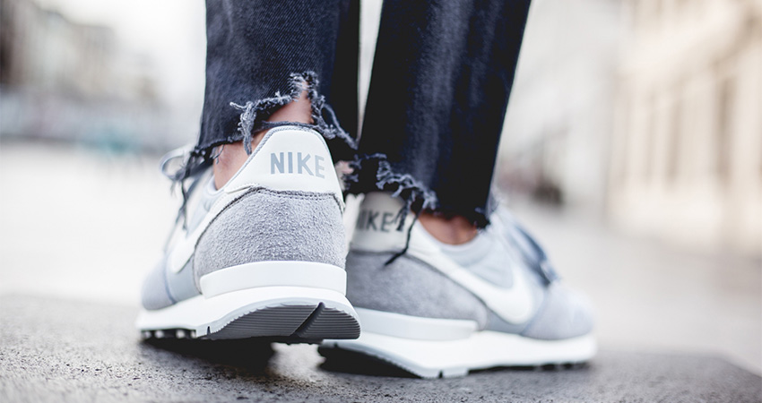 On Foot Look At The Nike Womens Internationalist Grey 03