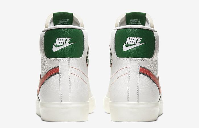 "Stranger Things Nike Blazer ""Hawkins High"" CJ6101-100"