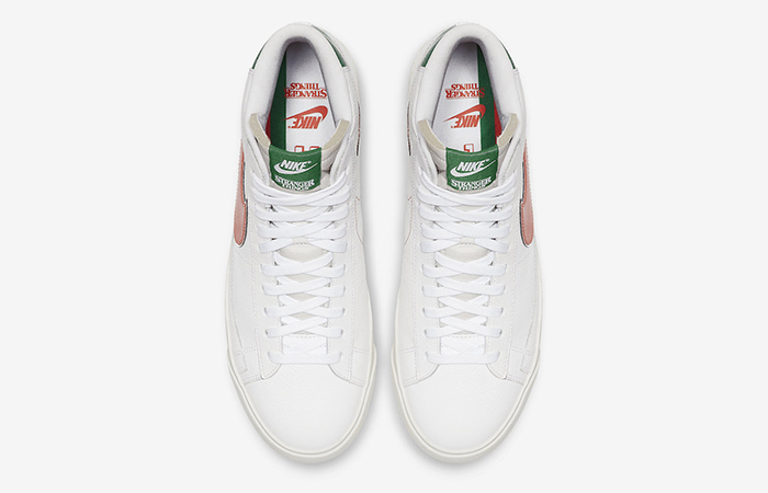 """Stranger Things Nike Blazer Mid """"Hawkins High"""" CJ6101-100"""