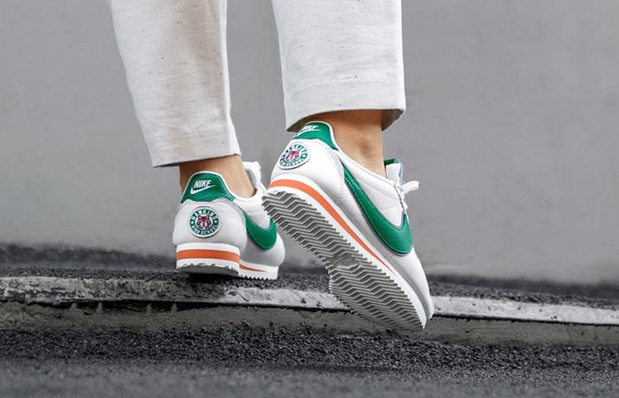 "Stranger Things Nike Cortez ""Hawkins High"" CJ6106-100 on foot 02"