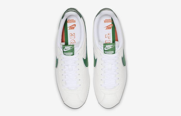 "Stranger Things Nike Cortez ""Hawkins High"" CJ6106-100"