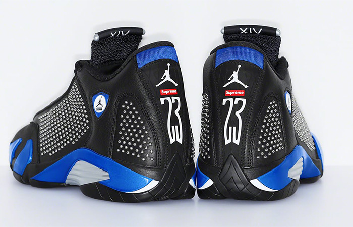 Supreme Air Jordan 14 Blue