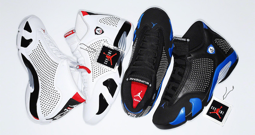 Supreme Air Jordan 14 Is Coming In Both Light And Dark Colourways! 0