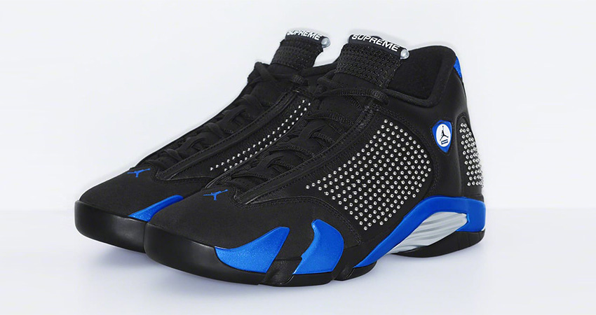Supreme Air Jordan 14 Is Coming In Both Light And Dark Colourways! 04