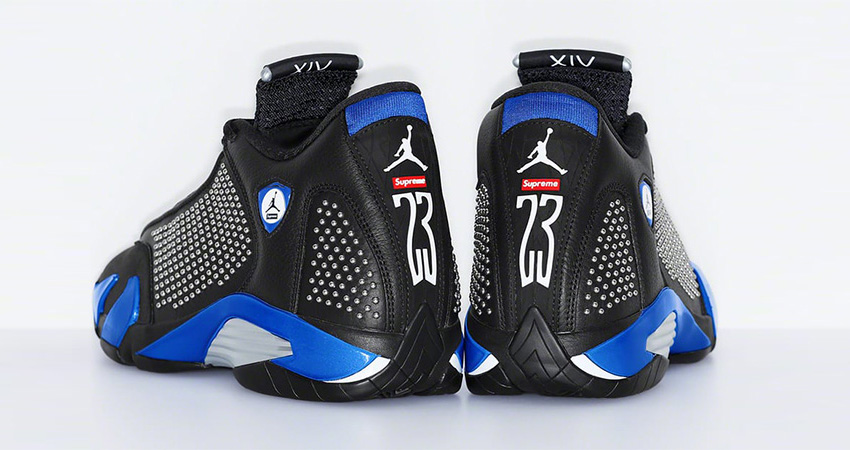 Supreme Air Jordan 14 Is Coming In Both Light And Dark Colourways! 05