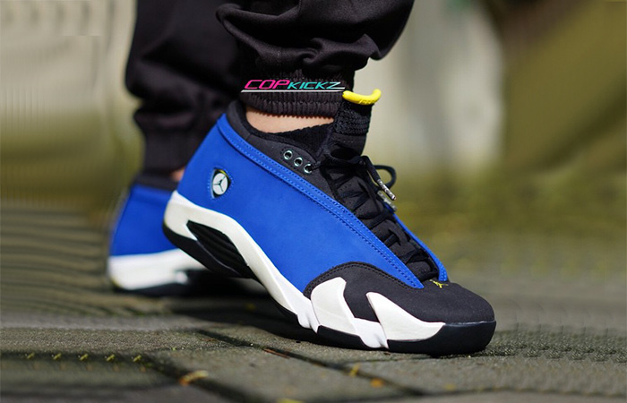 Supreme Air Jordan 14 Royal Blue 02
