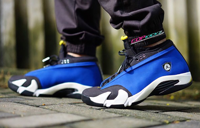 Supreme Air Jordan 14 Royal Blue 03