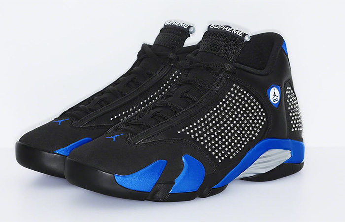 Supreme Air Jordan 14 Royal