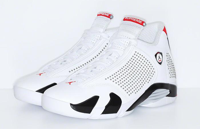 online store bd168 35901 ... Supreme Air Jordan 14 White 03 ...