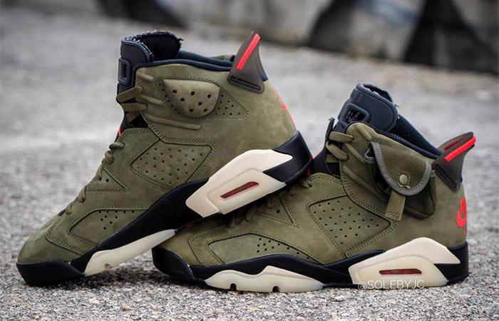 Travis Scott Confirms New Collaboration With Nike For Air Jordan 6 Cactus Zack ft