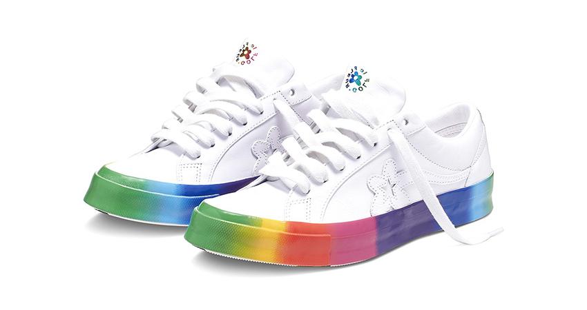 Tyler, the Creator x Converse Golf le Fleur «Rainbow
