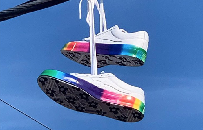 Tyler, The Creator Releasing The Newest Converse Golf Le Fleur 'Rainbow' ft
