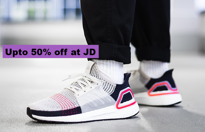 Up To 50% Off Men's Footwear At JD!! ft
