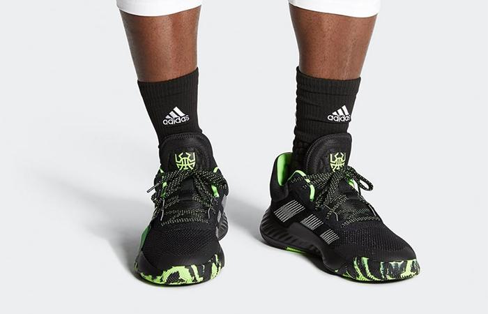 adidas D.O.N. Issue Stealth Spider-Man EF2805 on foot 02