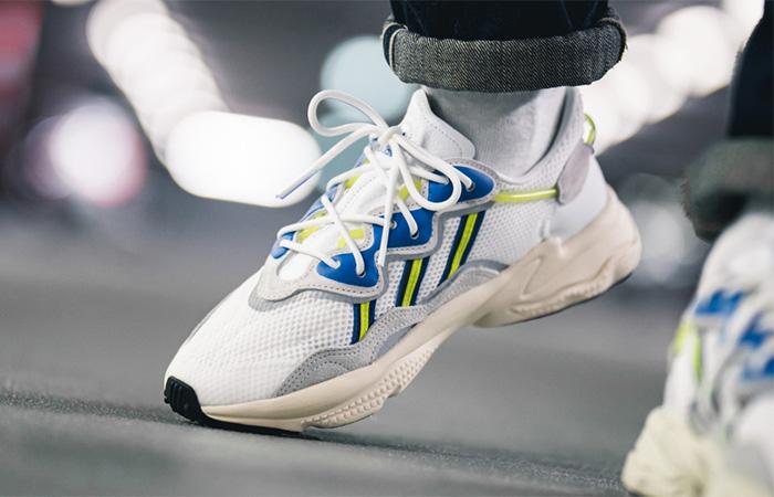 adidas Ozweego White Grey EE7009 on foot 03