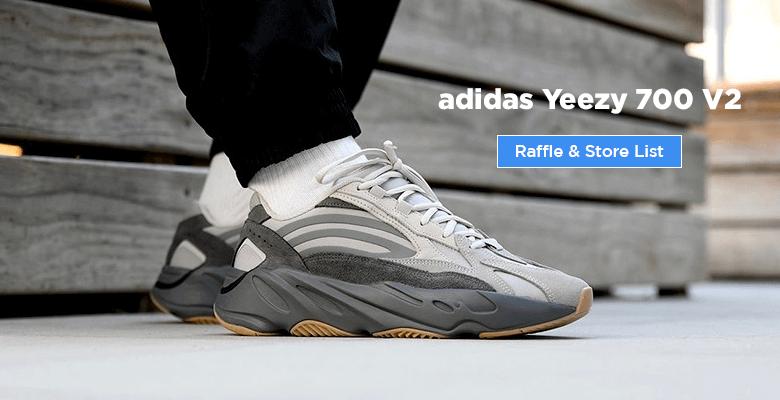 adidas Yeezy Boost 700 V2 Tephra FU7914 raffle Store list buy from UK Europe Sneakers in UK Europe