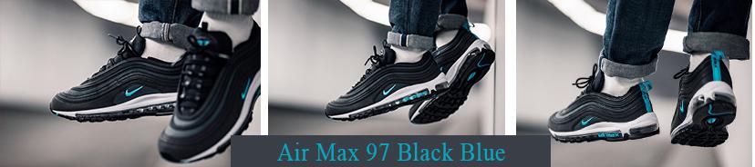 Air Max 97 Black Blue