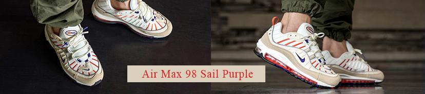 Air Max 98 Sail Purple