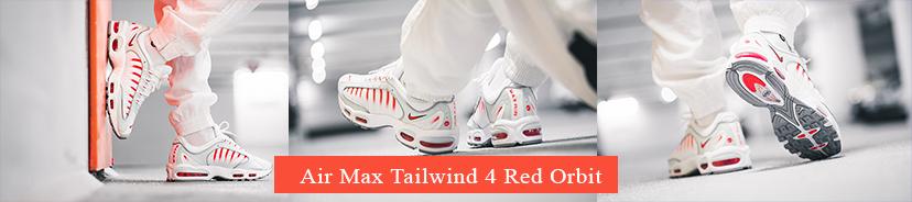 Air Max Tailwind 4 Red Orbit