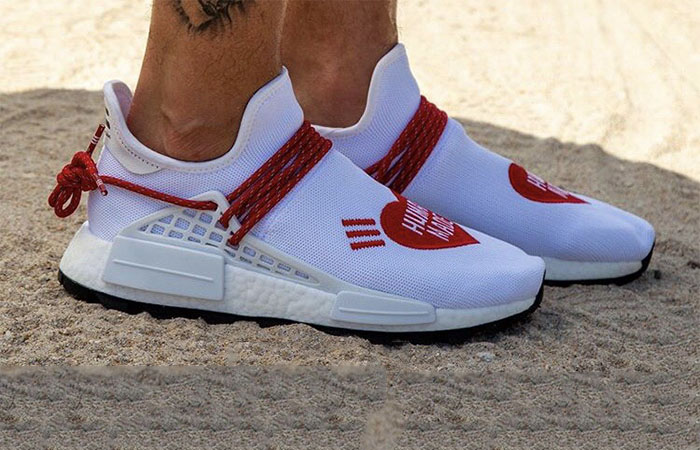 An On Foot Look At The Human Made Pharrell adidas NMD Hu ft