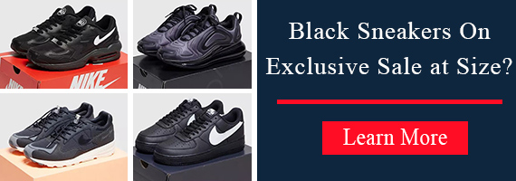 Black Sneakers On Exclusive Sale at Size