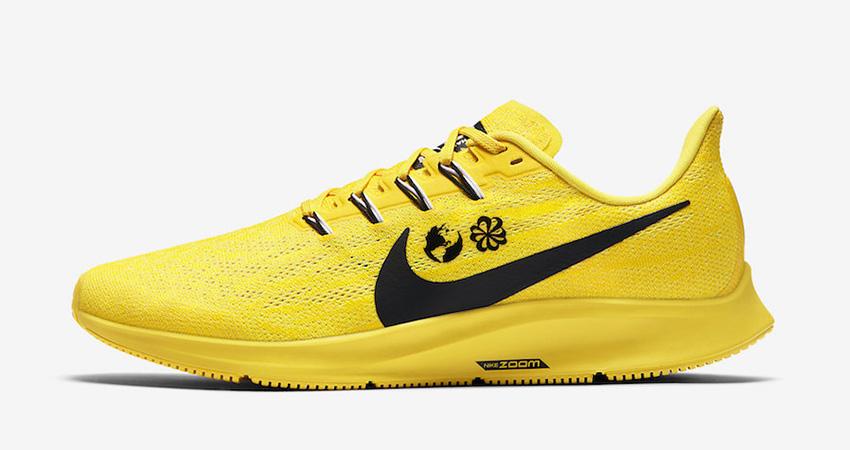 Cody Hudson Nike Air Zoom Pegasus 36 Yellow Releasing Soon 01