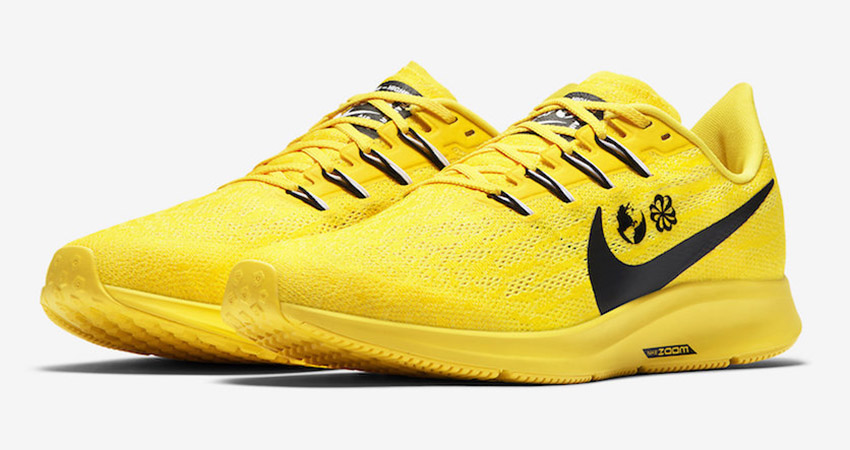 Cody Hudson Nike Air Zoom Pegasus 36 Yellow Releasing Soon 02