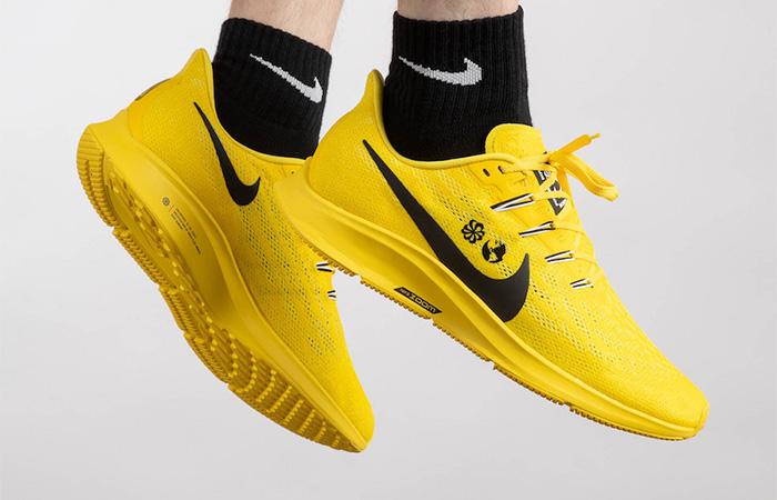 Cody Hudson Nike Air Zoom Pegasus 36 Yellow Releasing Soon ft