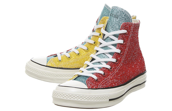 Converse All Star Hi 70s Trainers Available With 3 Glitter Look At Offspring ft