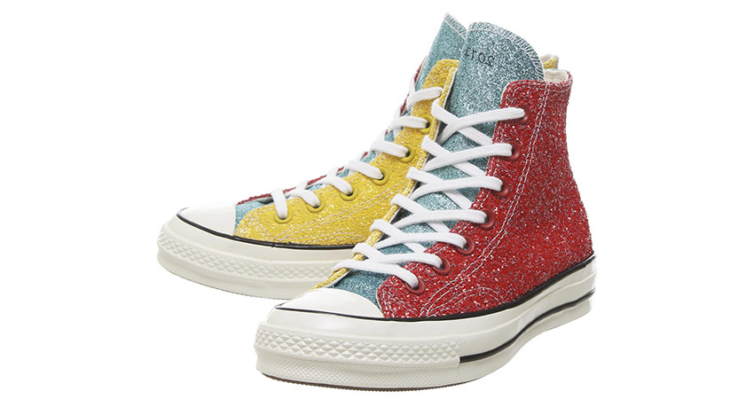 Converse All Star Hi 70s Trainers Available With 3 Glitter Look At Offspring