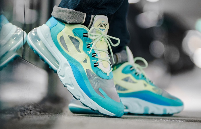Don't Miss Out Nike Air Max 270 React Blue Mint Releasing Next Week ft