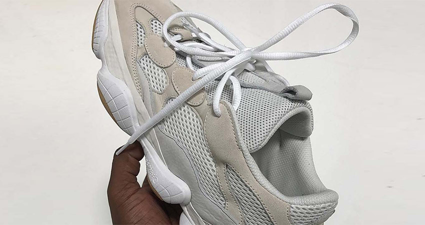new arrival 21700 ce06a Few More Look At The Yeezy 500 Bone White – Fastsole
