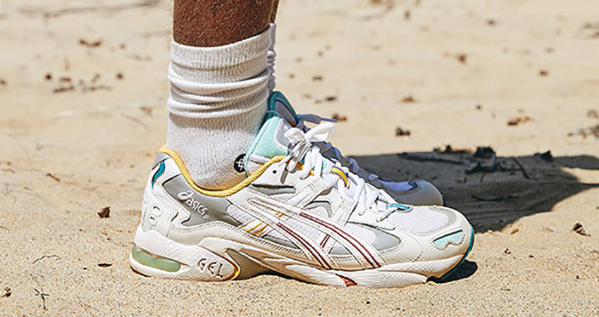 KITH Officially Reveals The ASICS GEL-Kayano 5 OG Oasis