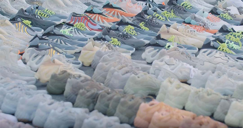 Kanye West Reveals Hundreds Of Never-Before-Seen Yeezy Sneakers 01
